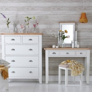 St Ives White Bedroom Range