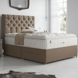 Classic Natural Luxury Silk 2850 Divan Bed