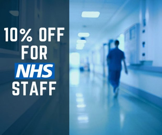 10% off for NHS Employees