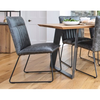 Cooper Leather Dining Chair
