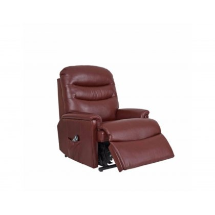 Celebrity Pembroke Leather Petite Recliner Chair