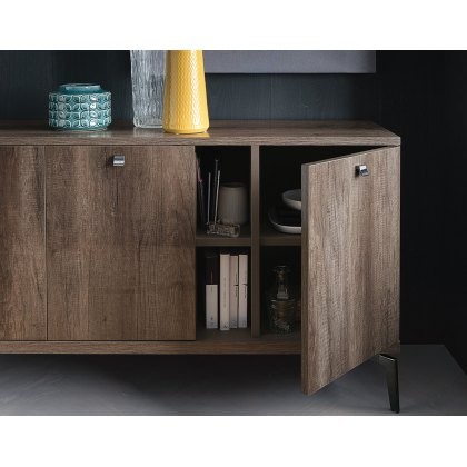 Vega 3 Door Buffet Sideboard