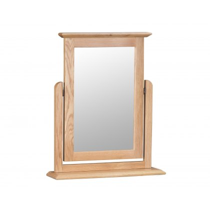 Oxford Oak Trinket Mirror