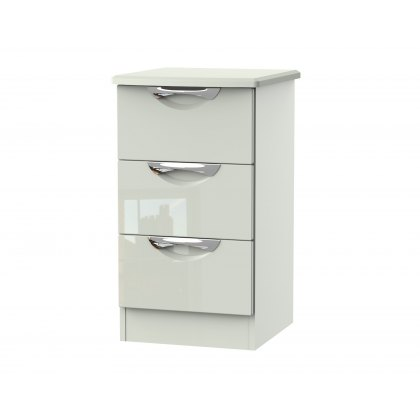 Cordoba 3 Drawer Bedside Table