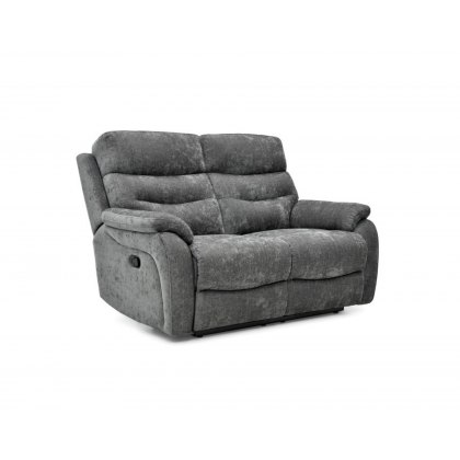 Picasso Fabric 2 Seater Manual Recliner Sofa