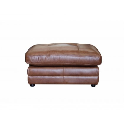Alexander & James Bailey Leather Stool