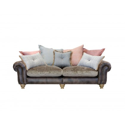Alexander & James Bloomsbury 3 Seater Large Pillow Back Sofa