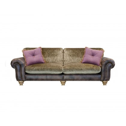 Alexander & James Bloomsbury 3 Seater Large Standard Back Sofa