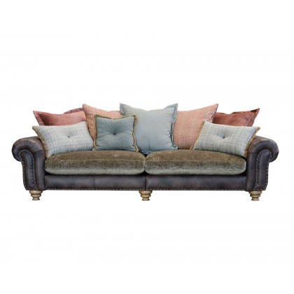 Alexander & James Bloomsbury 4 Seater Grand Pillow Back Sofa