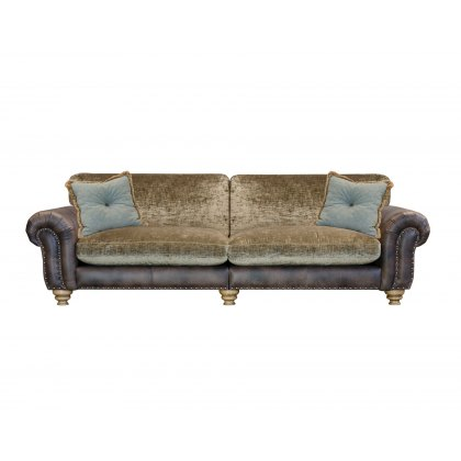 Alexander & James Bloomsbury 4 Seater Grand Standard Back Sofa