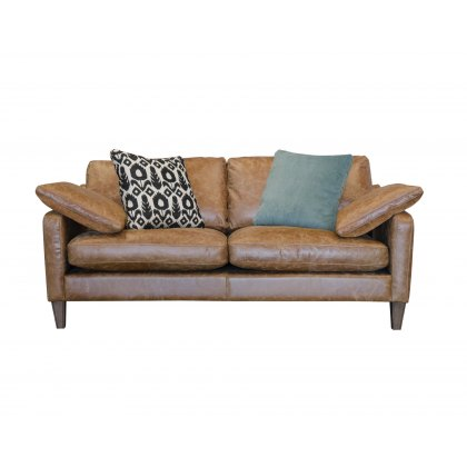 Alexander & James Hoxton Leather Midi Sofa