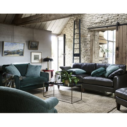 Alexander & James Hoxton Leather Small Sofa