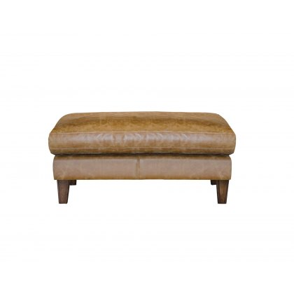 Alexander & James Hoxton Leather Stool