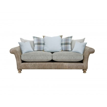 Alexander & James Lawrence II 3 Seater Pillow Back Sofa