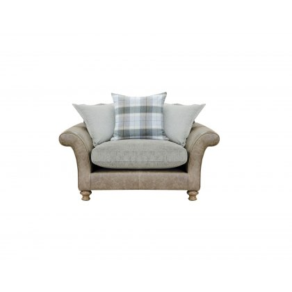 Alexander & James Lawrence II Pillow Back Snuggler Chair