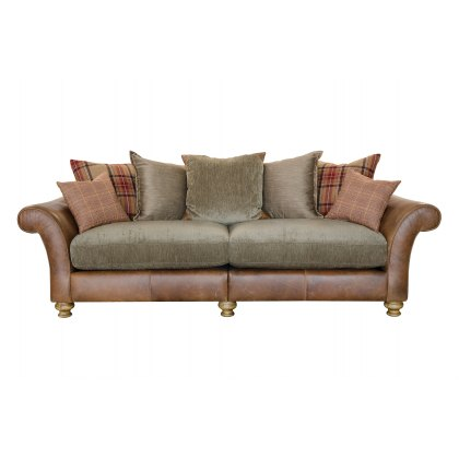 Alexander & James Lawrence I 4 Seater Pillow Back Sofa