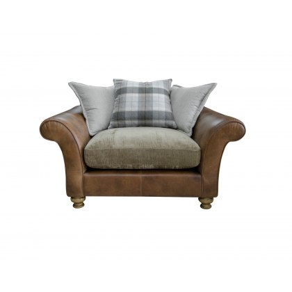 Alexander & James Lawrence I Pillow Back Snuggler Chair