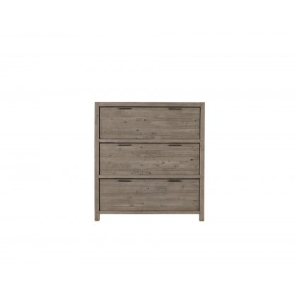 Tuscan Spring Reclaimed Wood 3 Drawer Chest of Drawers