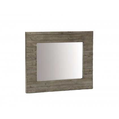 Tuscan Spring Reclaimed Wood Wall Mirror
