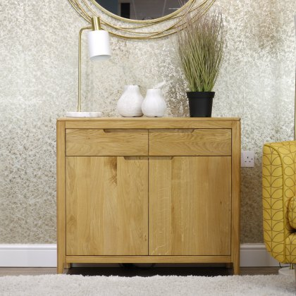 Oak City - Stockholm Oak 2 Door Sideboard
