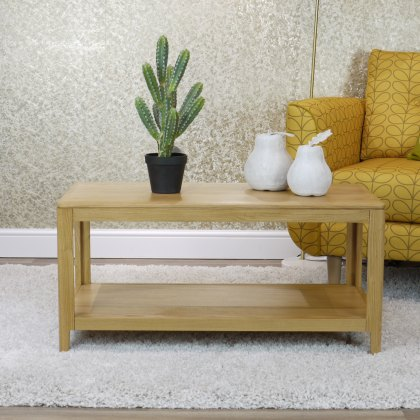 Oak City - Stockholm Oak Coffee Table