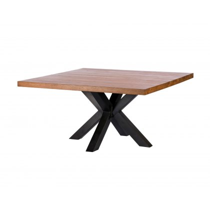 Samba Solid Oak Holborn Square Dining Table