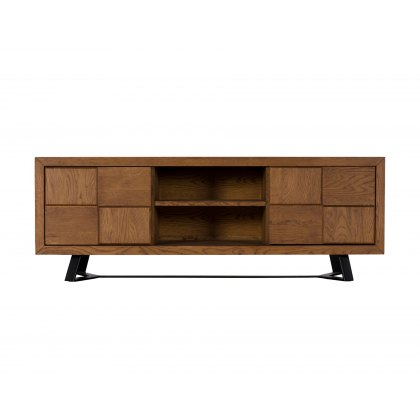 Soho Solid Oak Camden TV Unit