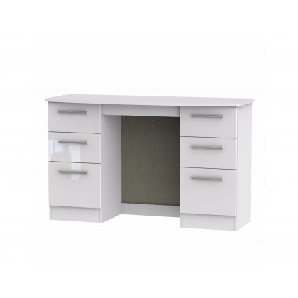 Belgravia High Gloss Kneehole Dressing Table