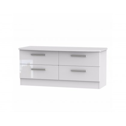 Belgravia High Gloss 4 Drawer Bed Box
