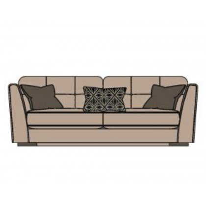 Gianni 3 Seater Standard Back Sofa