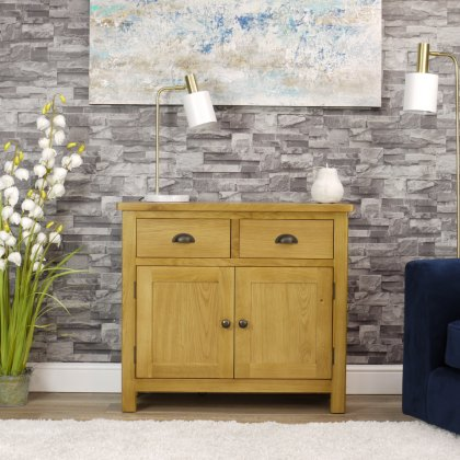 Oak City - Milan Oak Sideboard