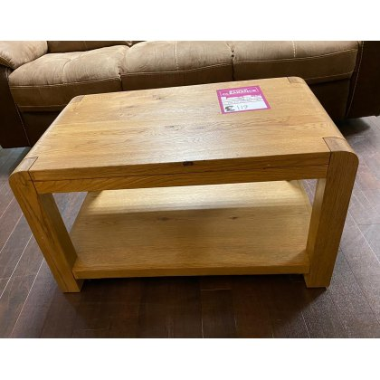 Milan Coffee Table with Shelf