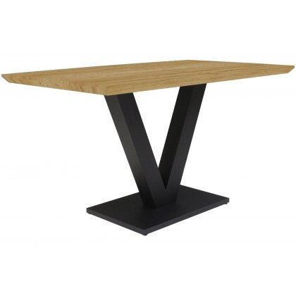Larson Earth Industrial Compact Dining Table