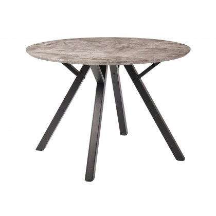 Titan Compact Round Dining Table
