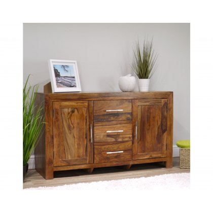 Oak City - Indiana Rosewood Large Sideboard