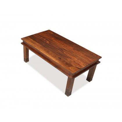 Oak City - Maharajah Indian Rosewood Chunky Coffee Table - 60 x 110