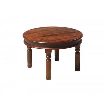 Oak City - Maharajah Indian Rosewood Round Coffee Table - 70cm