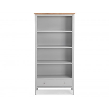 Oak City - Marlow Painted Large Bookcase
