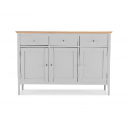 Oak City - Marlow Painted Large Sideboard 3 Door 3 Drawer