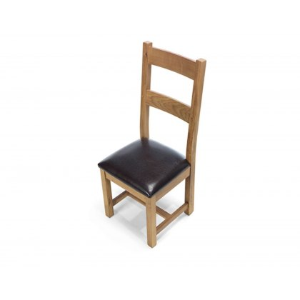Oak City - Monaco Rustic Oak Chair