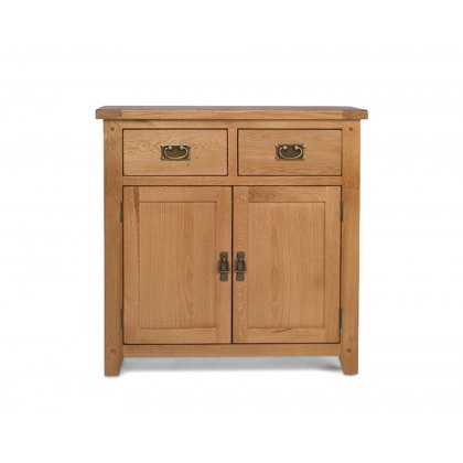 Oak City - Monaco Rustic Oak Small Sideboard