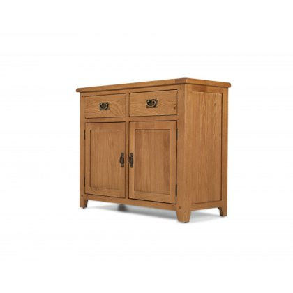 Oak City - Monaco Rustic Oak Standard Sideboard