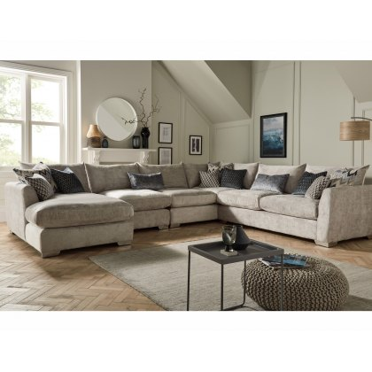 Metro Large Corner Sofa with Chaise