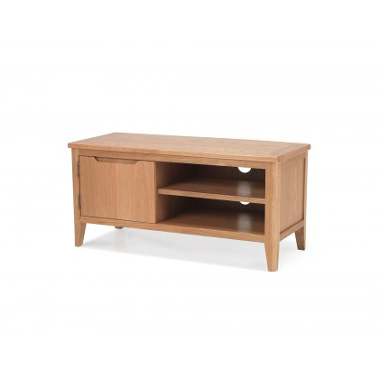 Oak City - Oslo Small 95cm Oak TV Stand