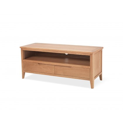 Oak City - Oslo Large 120cm Oak TV Stand