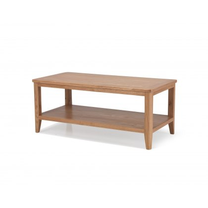 Oak City - Oslo Coffee Table With Shelf