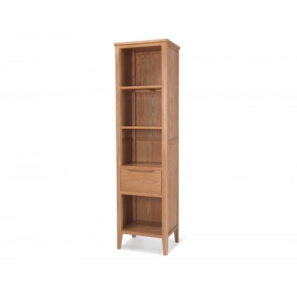 Oak City - Oslo Slim Bookcase