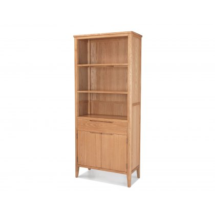 Oak City - Oslo Tall Bookcase