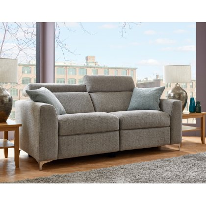 Elaine 3 Seater Fabric Recliner Sofa
