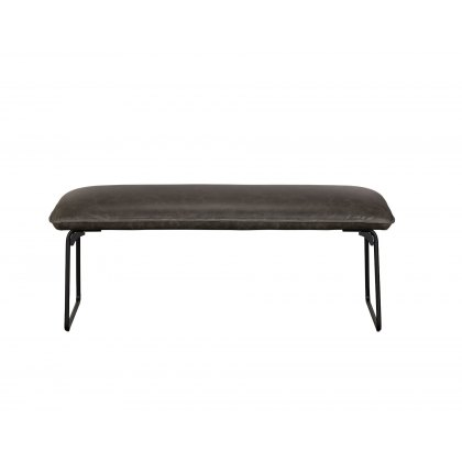 Cooper Leather Low Bench
